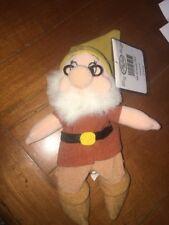 Disney Store Doc Dwarf Mini Bean Bag Plush Doll NWT