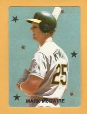 Mark McGwire Single Cards Oakland A's St. Louis Cardinals 3M