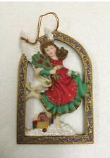 Angels Beside Me Rebecca Guardian of Yuletide Joy Ornament Rebecca 2002 Ingrid