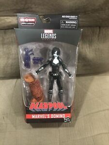 Domino Deadpool Hasbro Marvel Legends Action Figure - Unopened BAF Sasquatch New
