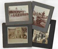 Lot 4 Original Photographs Pan American Exposition Buffalo 1901 Streets of Cairo