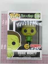 Funko Glow in the Dark Toxic Morty #336 Pop! Rick and Morty Vinyl Figure D03