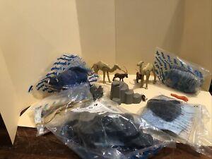 PLAYMOBIL - Camels, Panthers, Bison, Rhino, Rocks