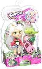 Poupée shopkins shoppies S2 sara sushi avec sushanne & peggy sushi support inclus