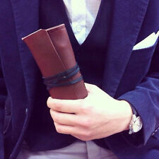 Leather pencase -roll