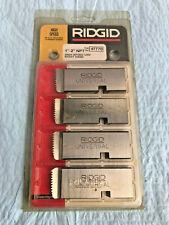 "RIDGID 47770 1"" - 2"" NPT Universal Dies High Speed RH. Made in USA"