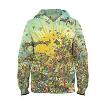 New Psychedelic Sun Rays Colorful Art 3D Hoodie Sweatshirt Men Women S-6XL