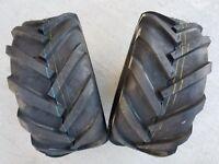 2 - 23/10.50-12 Deestone D405 4P Super Lug Tires AG DS5245 23/10.5-12