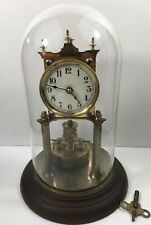 "Antique Jahresuhren-fabrik Germany 400 Day Torsion Pendulum Clock ""Serviced"""