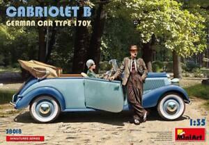 (MIN38018) - Miniart 1:35 - Cabriolet B Germn Car Type 170V