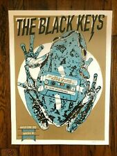 Tyler Stout Black Keys Norfolk variant print Constant Convention 2012 gig poster