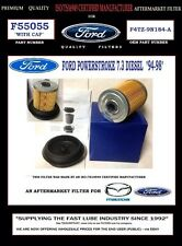 "F55055 W/Cap FORD ""94-97"" POWERSTROKE 7.3 DIESEL FUEL FILTER"
