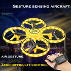 Gesture Watch Controll Four Axis Smart Drone LED USB Aircraft Quadcopter Toys