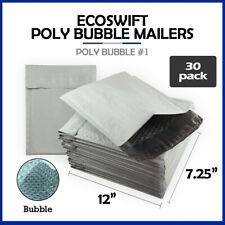 30 1 725x12 Ecoswift Brand Poly Bubble Mailers Padded Envelope Dvd 725 X 12