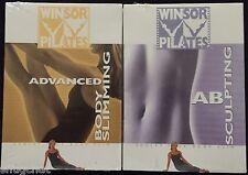 Winsor Pilates 2 DVDs Ab Sculpting & Advanced Body Slimming © 2003 Guthy-Renker