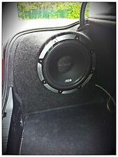 BMW SERIE 5 E60 aggiornamento Suono Altoparlante Sub Box 12 10 Stealth Lato Custodia Nuovo