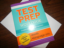 3rd TEST PREP WORKBOOK math language arts HOMESCHOOLING common core CLEVER CO