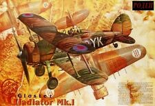 Gloster Gladiator Mk I (33, 80, 112 & 607 SQD. Raf MARCATURE) 1/48 Roden