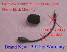 Windscreen (Foam cover) for Turtle Beach X42 X41 X11 XP500 PX5 .. Black mic only