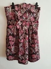 NEW £35, F&F - Ladies Womens Girls Strappy /Strapless Summer Party Dress Size 14