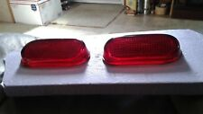 40's Chevrolet Parts Tail Lights Fleetline Stylemaster Deluxe Oem