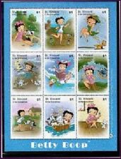 Saint Vincent Grenadines - Betty Boop Sheetlet
