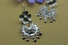 Handmade Filigree Flower Earrings