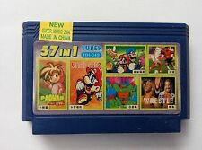6 in 1 games ( MARIO BROS, PACMAN ETC)- Famicom Famiclone Nes Cartridge .