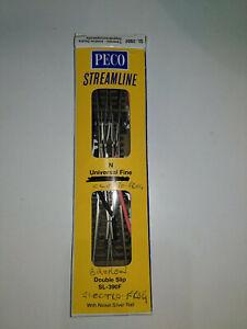 A Peco SL-E390F N Gauge Code 55 Streamline Double Slip Electrofrog SPARES/REPAIR