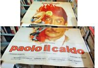Paolo The Caldo Manifesto 4F Original 1973 Vicar Giannini