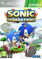 Xbox 360 - Sonic Generations **New & Sealed** UK Stock - Xbox One Compatible