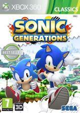 Xbox 360-Sonic Generations ** Neu & Versiegelt ** UK Lager-Xbox One kompatibel