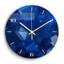 Acrylic 3D Modern Design Wall Clock Mute Night Starry Sky Living Room Kitchen