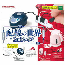 Epoch Toys Capsule Gashapon Wiring World Part 2 Colourful Ver Full Set 5 pieces