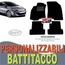 PER RENAULT MEGANE (3) TAPPETINI AUTO SU MISURA MOQUETTE CON BATTITACCO | EASY