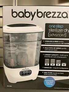 Baby Brezza One Step Bottle Sterilizer and Dryer Advanced  HEPA Filter