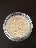 2 Euro Gedenkmünze Italien 2006 Olympische Spiele Turin Bankfrisch in Kapsel