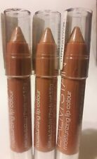 Lot of 3 Wet n Wild MegaSlicks Balm Stain Moisturizing  129 Nudist Colony