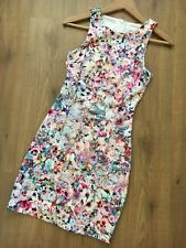 Forever New Dress Size 6 Floral Cocktail Party Bodycon Stretchable