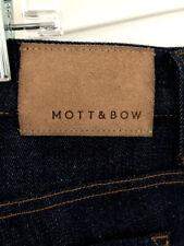 ☀️Men's MOTT & BOW Straight Leg Denim Jeans Dark Wash ~ size 36 x 34