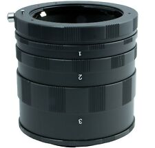 Macro Extension Tube Ring Set for Pentax K-70, K-1, K-3II, K-S2, K-S1, Camera