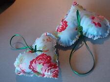 pretty hanging hearts cath kidston material handmade freepost