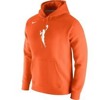 Brand New 2020 Nike Adult WNBA Primary Logo Orange Pullover Hoodie Sweatshirt