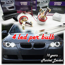 BMW M3 Angel Eyes H8 LED Marker Bulb SPLIT 40W  X5 E90 E92  E71 E87 X6 UK SELLER