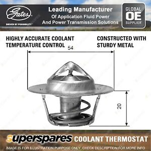 Gates Coolant Thermostat + Gaskets & Seals for Ford Territory SX SY BARRA 182