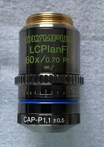 Olympus UIS Microscope Objective Lens – LCPlanFL 60x PH2 with CAP-P1.1