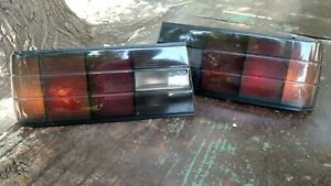 BMW E30 3 series Custom Tail lights Late model MHW style, Startec, FIFFT smoked