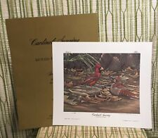 Cardinals Sunning by Richard Evans Younger #268/3000 Ltd Edition - Signed Print