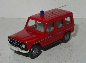 A613 Wiking Mercedes-Benz G-Klasse Feuerwehr Eigenbau von Modellbauer 1:87