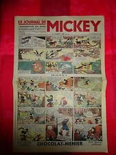 Journal de Mickey 21 octobre 1934 fac similé